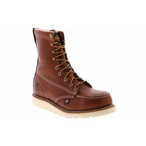 Thorogood-804-4208-Mens-8-034-Wedge-Moc-Toe-Steel-Toe-Work-Boots