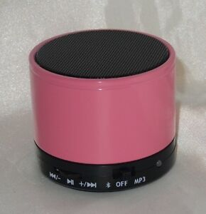 Bluetooth-Stereo-Lautsprecher-Mini-Speaker-Wireless-Musik-SD-MP3-FM-Radio-Rose