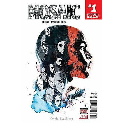 MOSAIC #1 (2016) 1ST PRINTING BAGGED & BOARDED MARVEL NOW