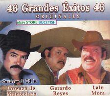 Lorenzo de Monteclaro,Gerardo Reyes,Lalo Mora 46 Grandes Exitos 3CD Box set
