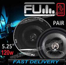 """FLI Underground FU5 5.25"""" 130mm 120w 2 Voies Portière Auto Haut Parleur Coaxial"""