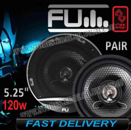 Fli Underground Fu5 13.3cm 130mm 120w 2 Voies Portière Auto Haut Parleur Coaxial