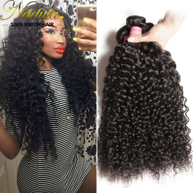 Nadula Cambodian Curly Hair Weave 3 Bundles 7a 100 Virgin Human Hair
