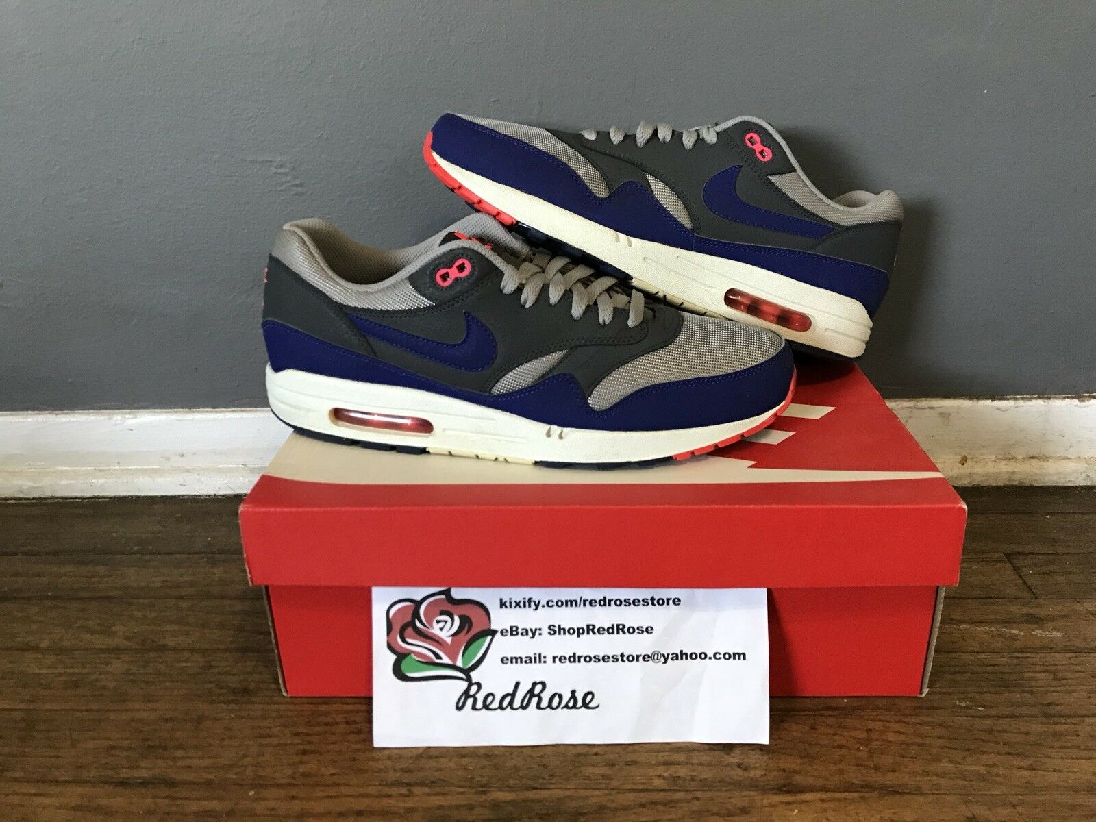 Nike Air Max 1 (please message to see if shoe is still available)