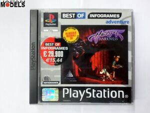 HEART-OF-DARKNESS-Sony-Playstation-One-Psx-Ps1-Pal-Best-Of-Infogrames-Italiano