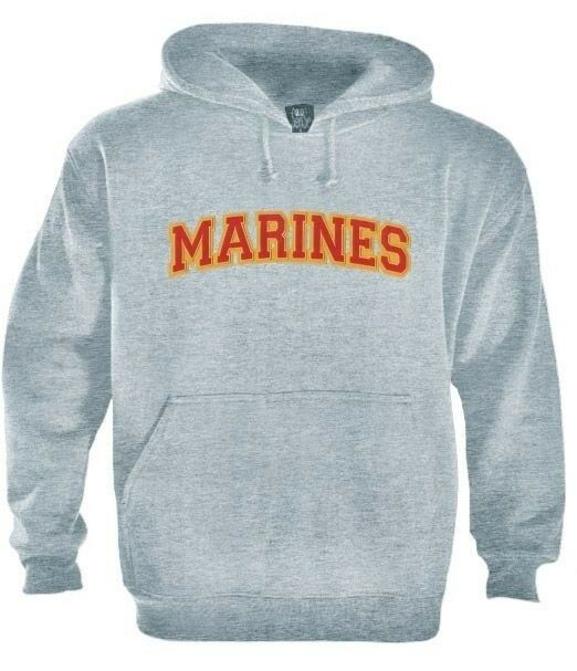 Marine Logo Embroidered patch Hoodie USA Military army Special Forces Training