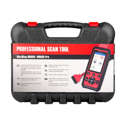 Autel MD808 PRO All System OBD2 Auto Diagnostic Tool ABS Airbag EPB DPF Scanner