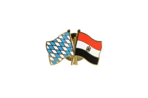 Ägypten Flaggen Pin Fahnen Pins Fahnenpin Flaggenpin Anstecker Bayern
