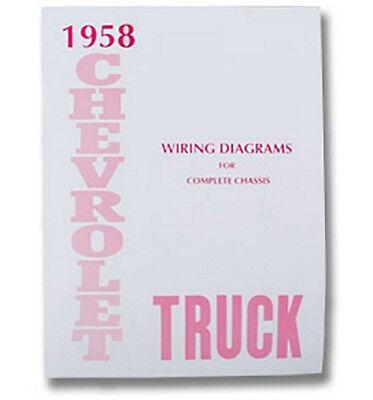 1958 Chevy Truck Wiring Diagram | eBay