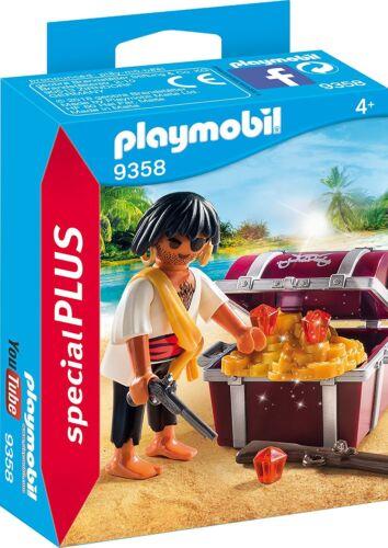 Special Plus PLAYMOBIL 9358 Pirat mit Schatzkiste