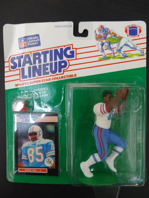 1989 Starting Starting Starting Lineup SLU Football Drew Hill Oilers 8a924a