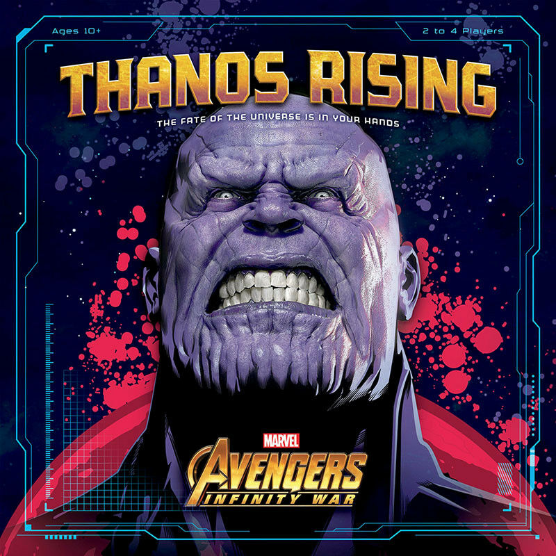 Thanos Rising - Avengers Infinito War - Cooperative Dado & Card Game