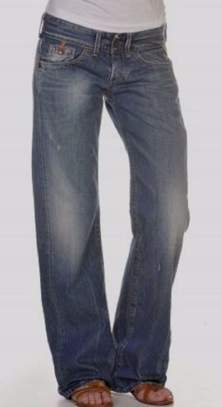 Replay Jeans Janice Womens Boyfriend New Authentic 29 x 34
