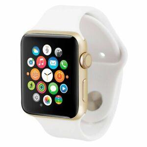 Apple Watch Series 2 38mm A1758 Gps Gold Aluminum White Sport Band 406516285168 Ebay