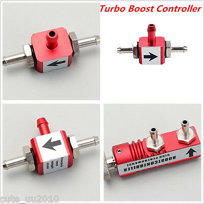 Aluminum 1-30PSI Adjustable Car Manual Turbo Boost Controller Boost Bleed Valve