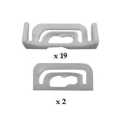 Modern Look for Car Auto Truck SUV 2pcs InstaTrim Matte Black Metal License Plate Frames Pair