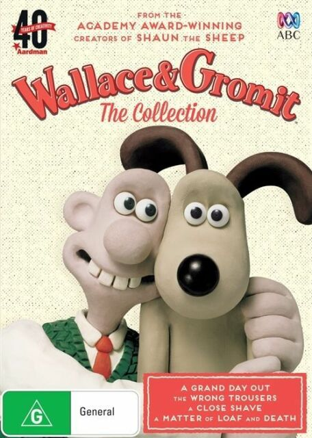 Wallace and Gromit Collection : NEW DVD