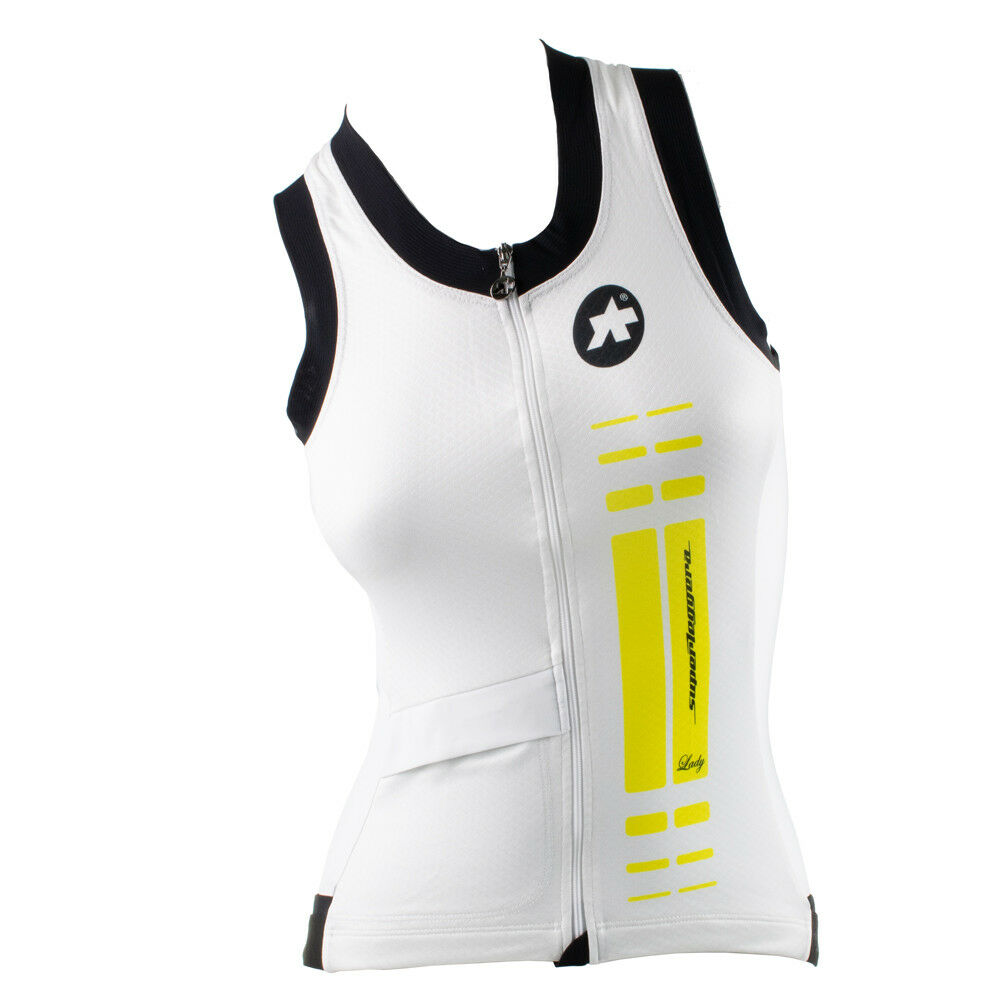 ASSOS NS.SUPERLEGGERA JERSEY - SLEEVELESS - Xtra Large ladys yellow volt