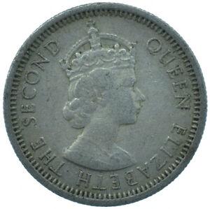 East Caribbean States, Elizabeth II, 10 Cents, 1955  #WT27352