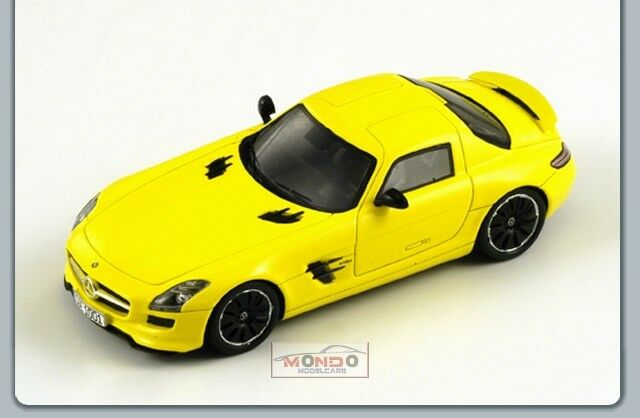 Mercedes Sls Amg E-Cell 2010 Yellow 1 43 Spark S1058 Model