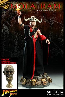 SIDESHOW INDIANA JONES TEMPLE OF DOOM MOLA RAM EXCLUSIVE PREMIUM FORMAT  STATUE | eBay