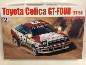 1990 Toyota Celica GT Four ST165 Safari Rally 1 24 Model Kit Beemax 24006