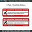 Trailer-GPS-Tracking-Security-Warning-Stickers-2-x-15cm-Wide-Anti-Theft-G009