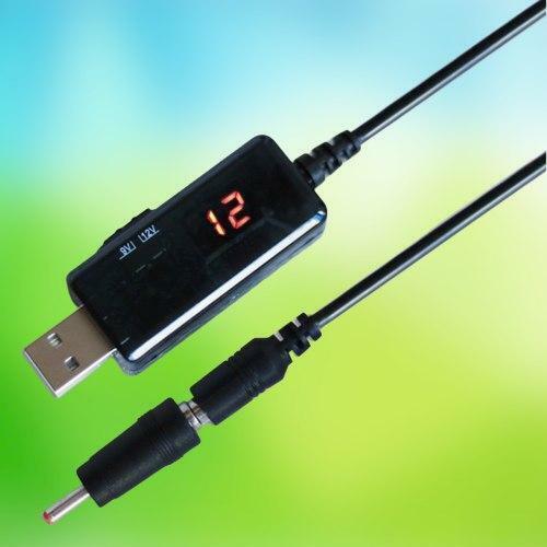 power supply 3,5 x 1,35 mm für Netzteil USB-Wandler DC 5V bis 9V 12V Kabel
