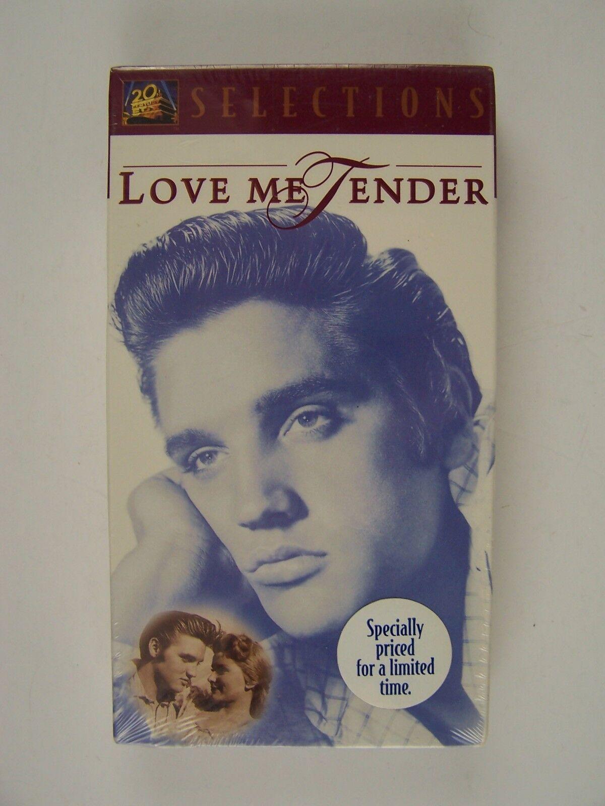 Elvis Presley Love Me Tender VHS New Factory Sealed 861