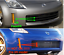 FRONT-BUMPER-LIP-SPOILER-VALANCE-COMPATIBLE-WITH-NISSAN-350Z-350-FACELIFT thumbnail 3