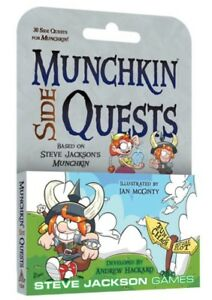 Munchkin-Side-Quests-30-Card-Game-Expansion-Steve-Jackson-Games-SJG-4264
