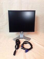 """Dell 17"""" LCD Monitor UltraSharp P1708fpt P1707fpt VGA DVI Dell computer stand"""