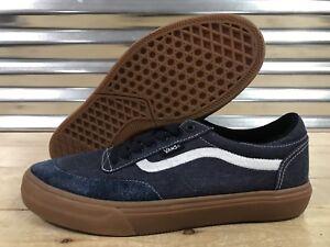 Vans Gilbert Crockett 2 Pro Skate Shoes Rawhide Denim Navy SZ 9 ... 361765bcca9
