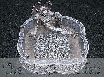 Gargoyle dragon gothic ashtray cement plaster craft latex moulds molds