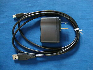 TI-84 Plus CE Charger Power AC Adapter Genuine TI Product w USB Cable