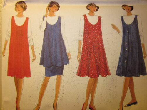 4160  Butterick SEWING Pattern MATERNITY Jumper Top Skirt UNCUT