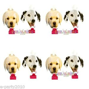 Image Is Loading PUPPY PARTY PAPER BLOWOUTS 8 Dog Birthday Party