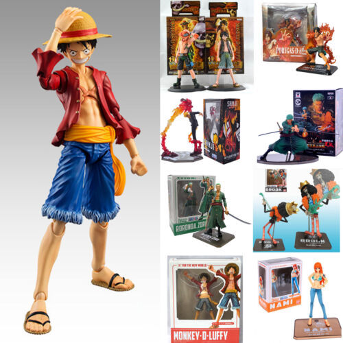 One Piece Action Figure Figurine Luffy//Ace//Zoro//Sanji JP Anime Cartoon Toys Gift