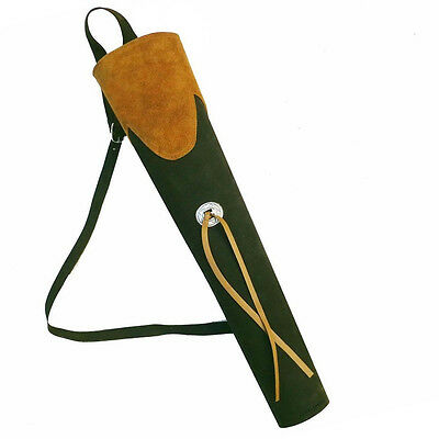 ADULT AQ GREEN SUEDE ARCHERY FINE BACK ARROW 137 QUIVER PRODUCTS wZxPOYzSq