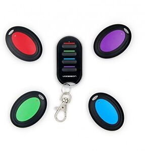 Vodeson KF04B Wireless RF Wallet Locator Key Finder, Remote Control Keychain 1