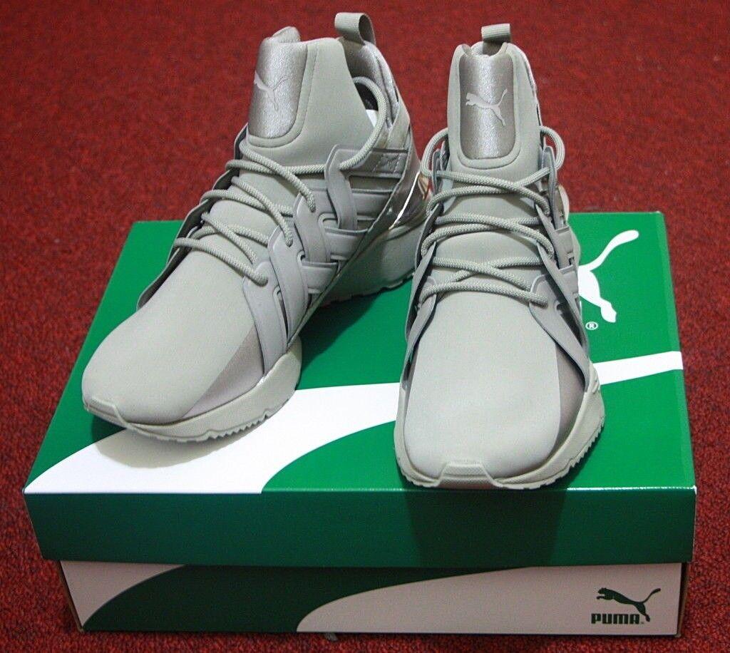 NIB Women Puma Muse Echo Fashion Sneakers Sz 7 Shoe Rock Ridge Gray 36644702 New