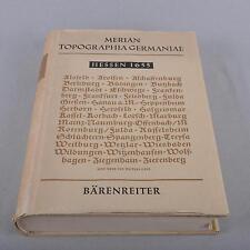 Merian Topographia Germaniae, Hessen 1655, Faksimile