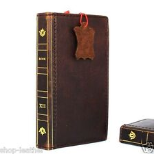 genuine leather Case for HTC ONE M8 book wallet handmade retro slim m 8 luxury V
