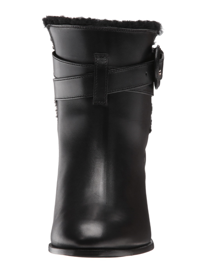 Burberry Thornton Women's Black Leather Boot Sz 41 EUR EUR EUR 2803 003c9d