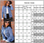 Women-039-s-Casual-Buttons-Denim-Jackets-Slim-Fit-Long-Sleeve-Collarless-Jean-Coats thumbnail 2