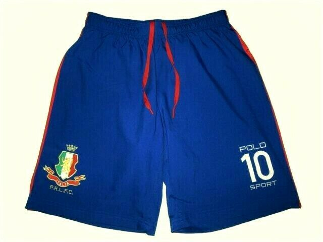 Polo Ralph Lauren Sport  Italia Royal bluee Red FC Gym Sport Short S Mens