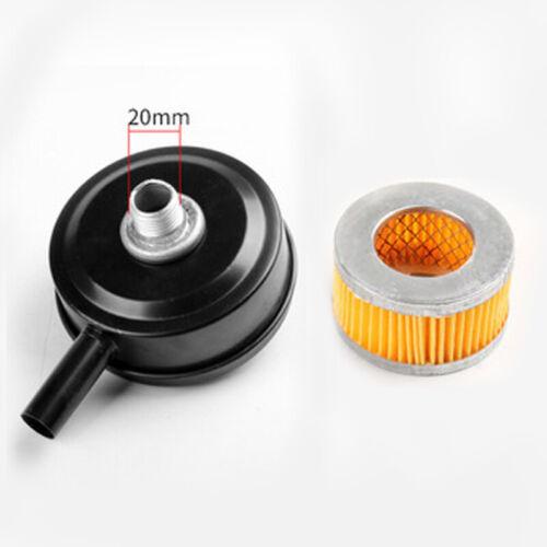 Metal Thread Air Compressor Intake Filter Pump Muffler Silencer Parts Kits 20mm