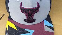 Era Chicago Bulls Bordeaux Black Grey Air Jordan Retro 7 Vii Snapback Hat Xi