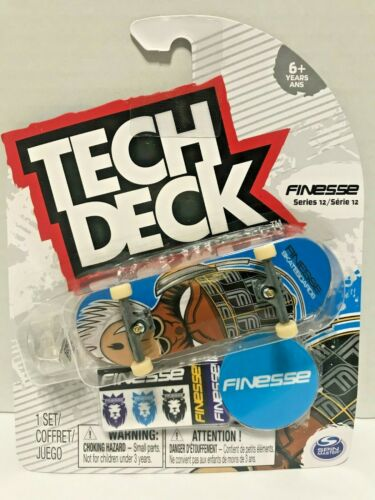 Tech Deck Finesse Skateboards Fingerboards Series 12