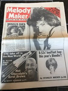 Charles-Mingus-Obituary-Front-Page-Jazz-Newspaper-Melody-Maker-13-01-1979